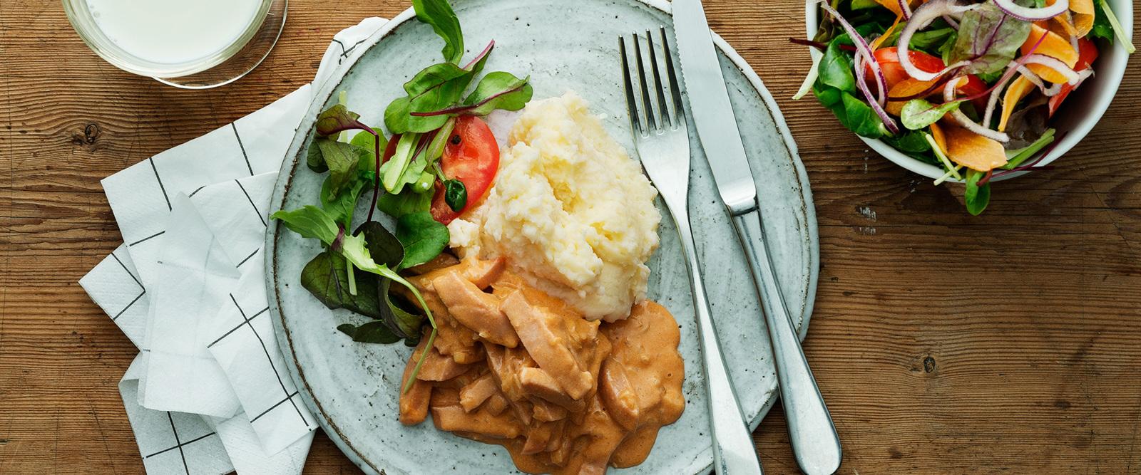 Snabba middagar med korv - Recept - Tema
