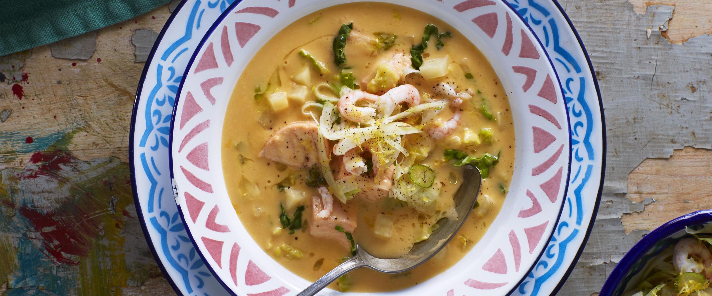 Snabb soppa till middag