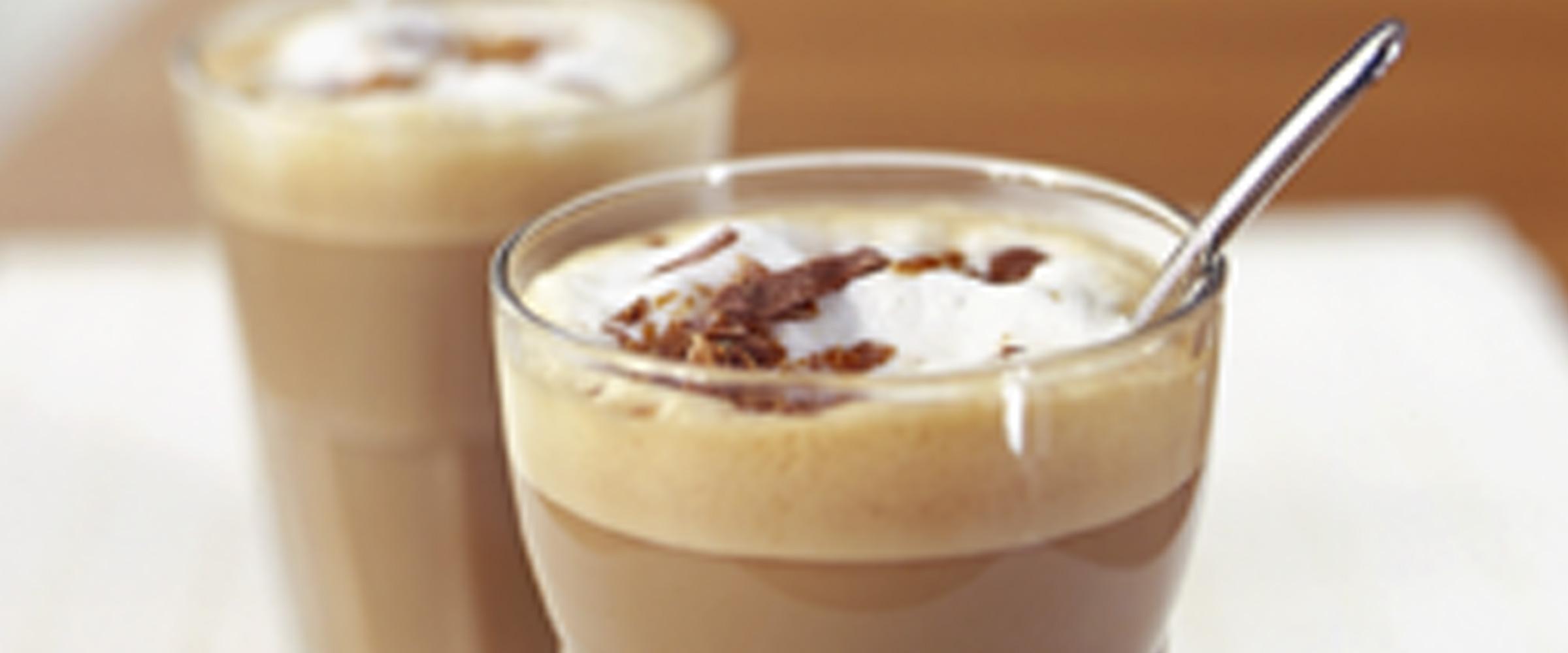 Caffe latte - recept med kaffe som huvudingrediens