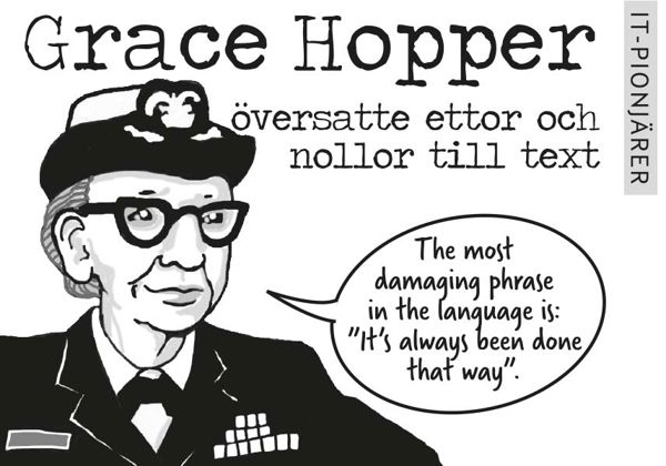 IT-pionjärer – Grace Hopper