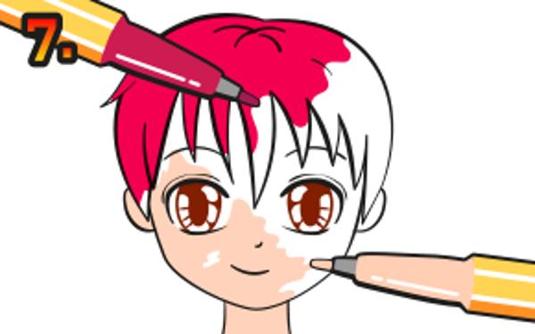 Färglägg din firgur så som du tycker blir fint. Använd tusch eller färgpennor.