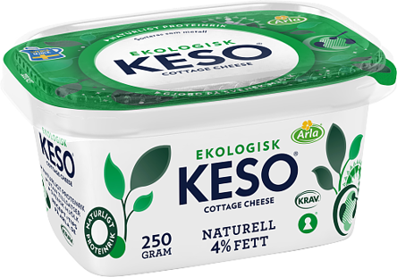 Cottage Cheese Ekologisk Naturell 4%