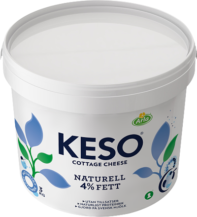 Cottage Cheese Naturell 4%