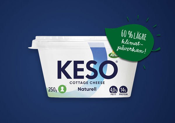 Pappersbägare – KESO® Cottage Cheese