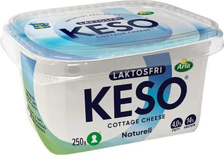 Laktosfri cottage cheese 4%
