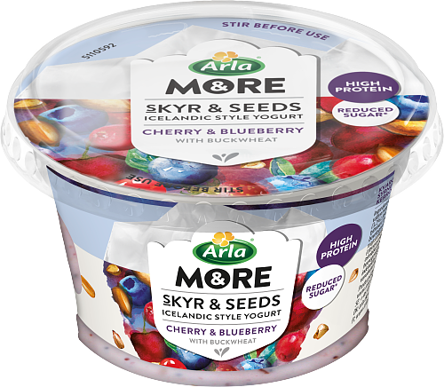 Skyr & Seeds Cherry/blueberry