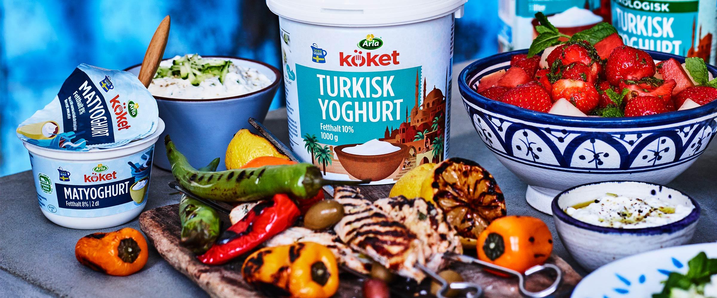 meze yoghurt arla