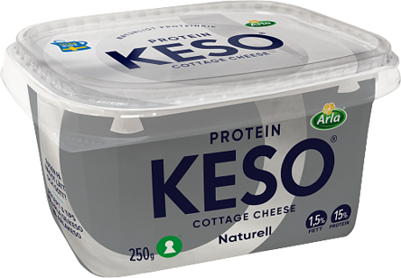 Cottage cheese protein 1,5%