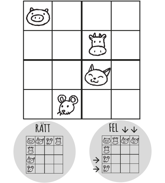Kluring – sudoku