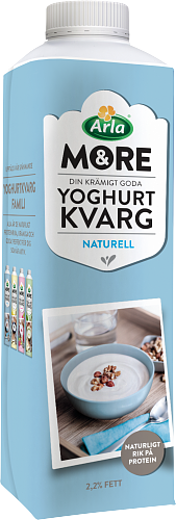 &More Yoghurtkvarg Naturell