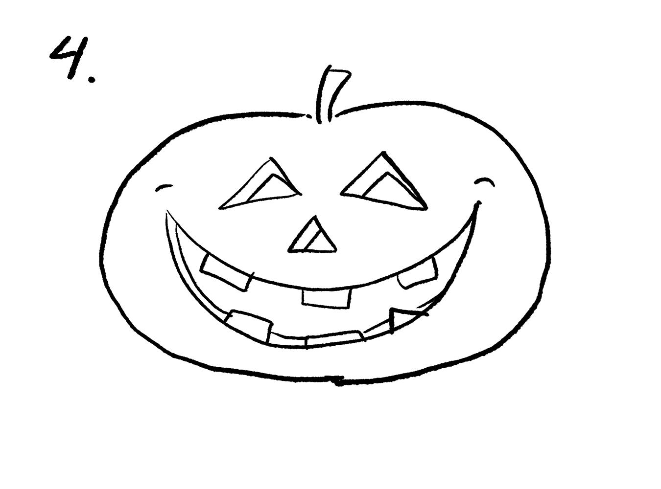 Rita en halloweenpumpa – steg 4 71c3517aa7633