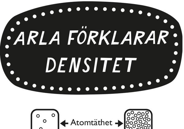 Arla förklarar densitet