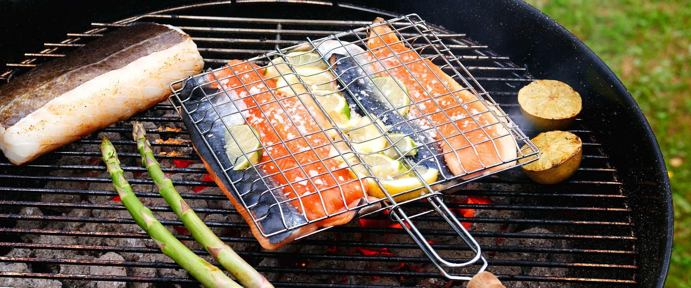 grilla fisk